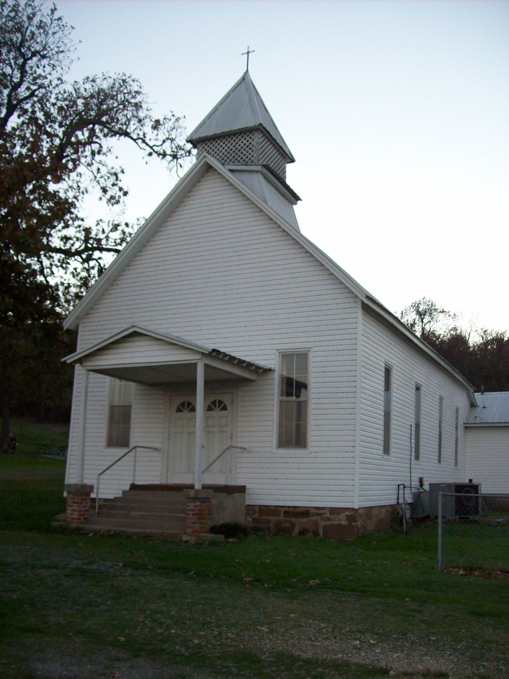 Baptist Mission Church- the oldest Baptist Church in Oklahoma- founded at the Valley Towns Mission in North Carolina. The members traveled over the Trail of Tears.