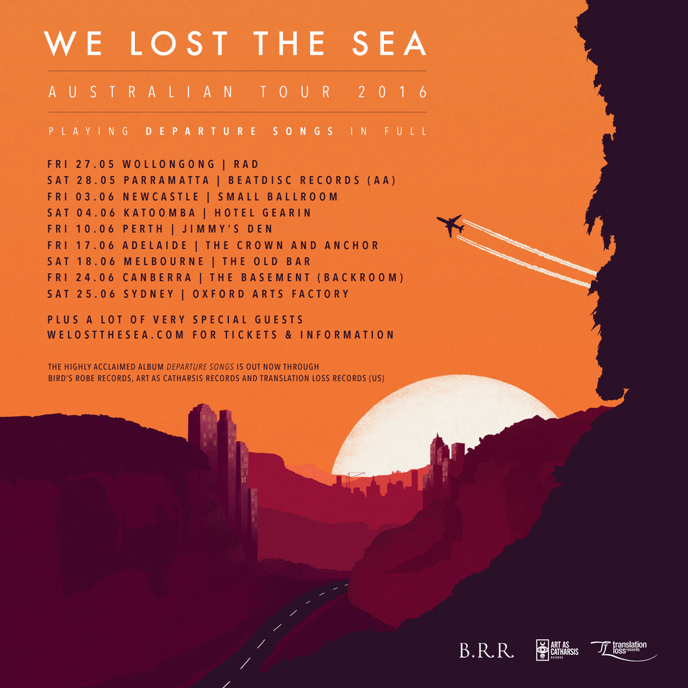 TICKETS ON SALE NOW — We Lost The Sea