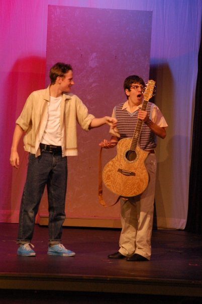 """Dennis in """"All Shook Up"""" at Solon Summerstock"""