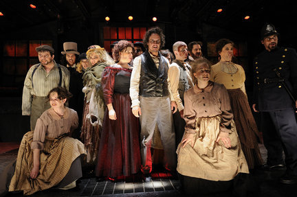 """Tobias in """"Sweeney Todd"""" at Cain Park"""