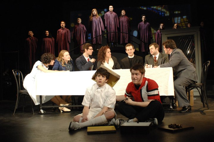 """Young Tommy in """"Tommy"""" at The Boston Conservatory"""