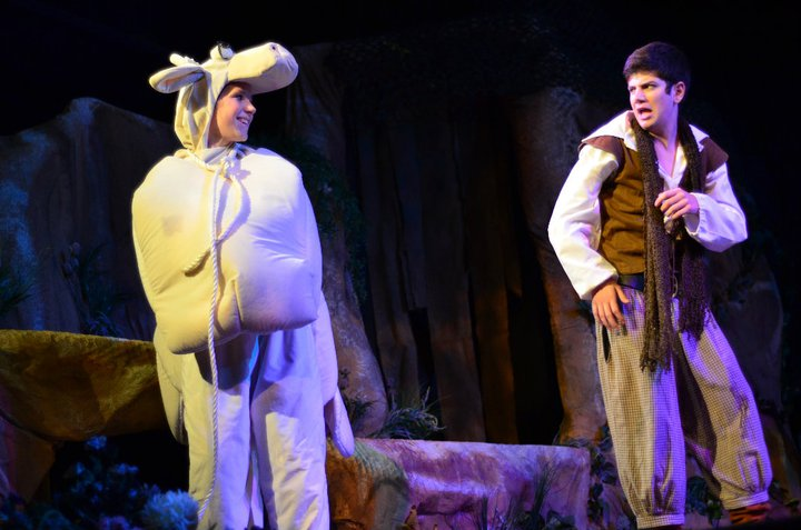 """The Baker in """"Into the Woods"""" at Solon Summerstock"""
