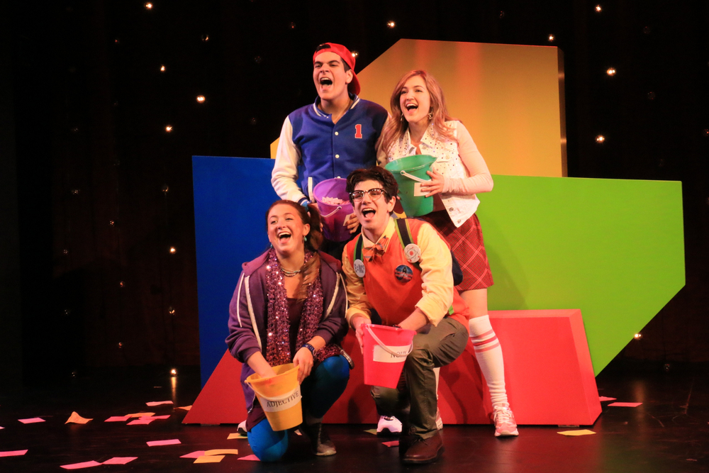 """Geyser in """"MAD LIBS LIVE!"""" at New World Stages"""