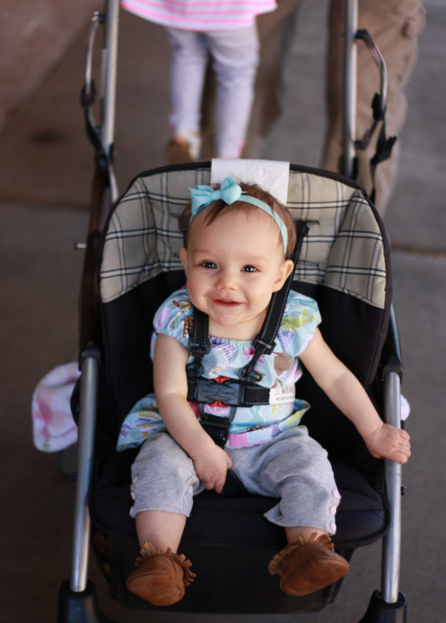 We'll start off the boring, typical blog post with a stroller shot.