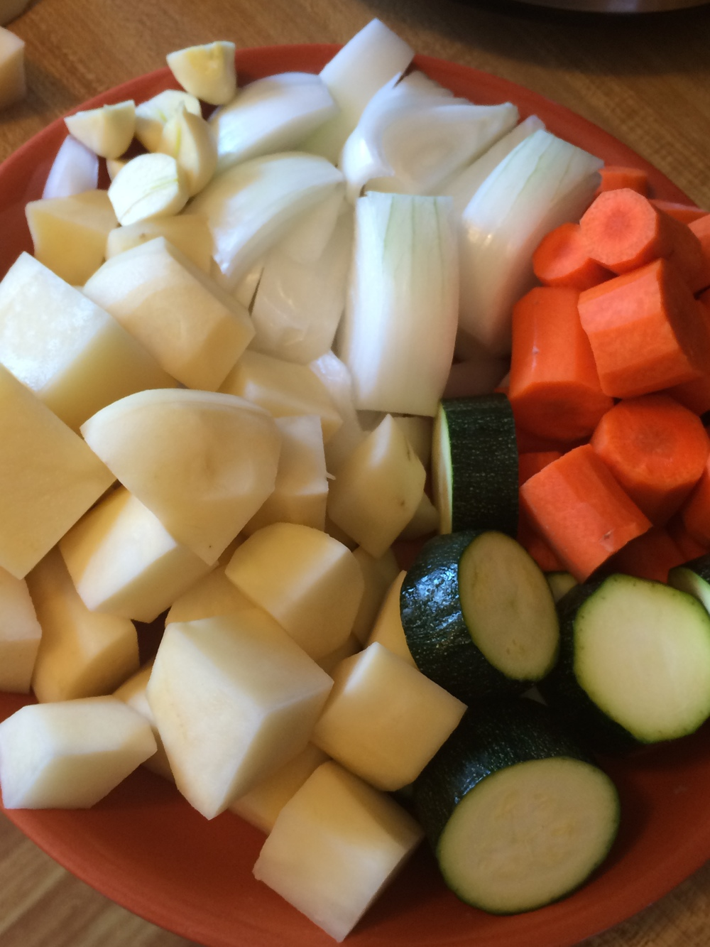 2. Cut Vegetables