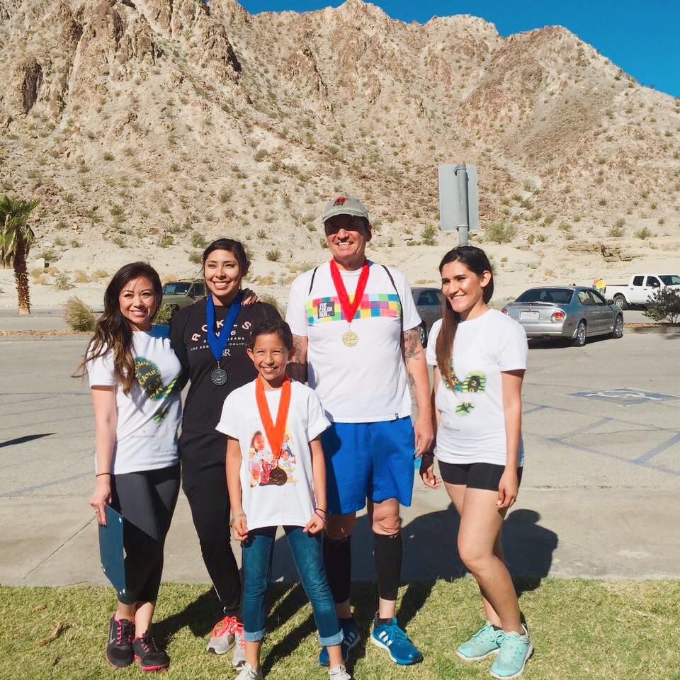 1st Place (Red): Jose Estrada; 2nd Place (Blue): Brittany Vega; 3rd Place (Orange): Marylina Moreno