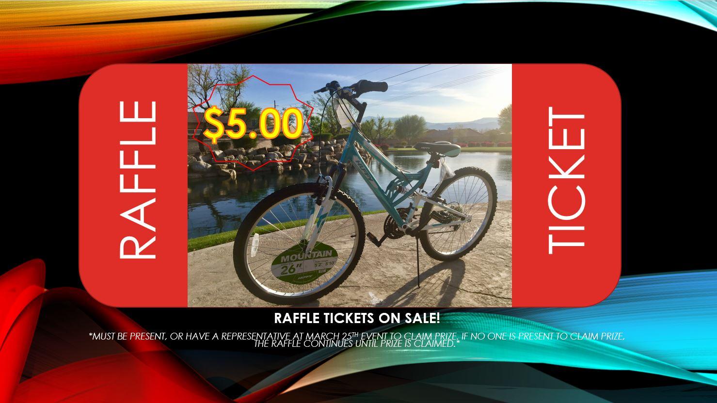 Mountain Bike Raffle Ticket — Stacy M Estrada