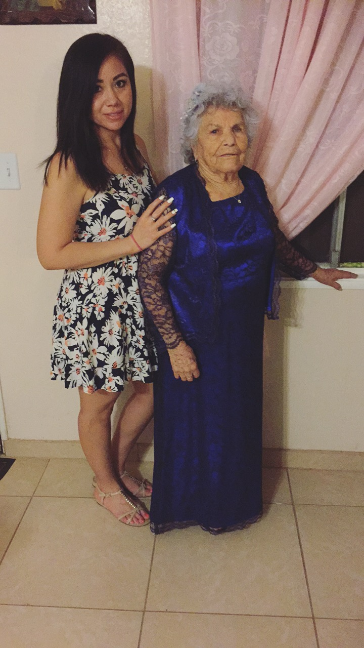 Me & Abuelita Maria
