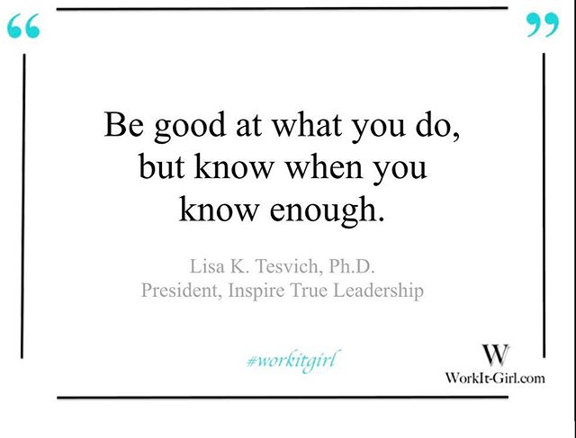 Tip #1 from Lisa Tesvich, Ph.D, And President of Inspire True Leadership. Stay Tuned For An Explanation On This Tip, And Two More To Follow... 💡💡 #leader #leadership #ideas #tips #infomation #workitgirl #career #knowledge #experience #work #wisdom
