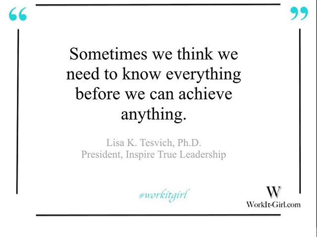 Have You Ever Talked Yourself Out Of Going After What You Really Want Because You Thought You Needed More Of Something Else? Lisa Explains The Importance Of Taking The Next Step 👠 #moves #takingcontrol #learning #goals #achieving #excellence #influencer #leader #learning #phd #speaker #empoweringwomen #empowerment #workitgirl