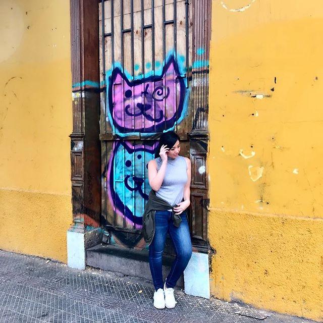 📸 dem paparazzi shots dough... Casually walking the streets of Santiago 🤩 #tfas  Photo cred:.. @raiane_cardosos