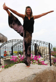 "Mahalo to my yoga instructor- she has helped me stay ""balanced""!"
