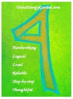 4 energy with attributes green and blue white letters.JPG