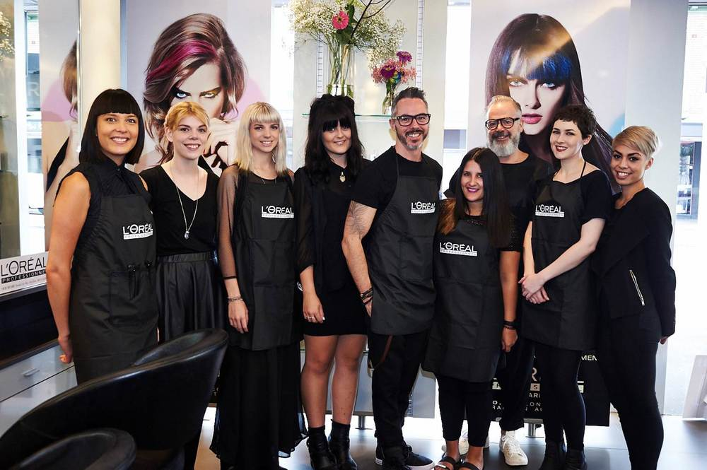 L'Oréal Professionnel Hairchalk launch 2014 _Murphy Gozzard team.jpg