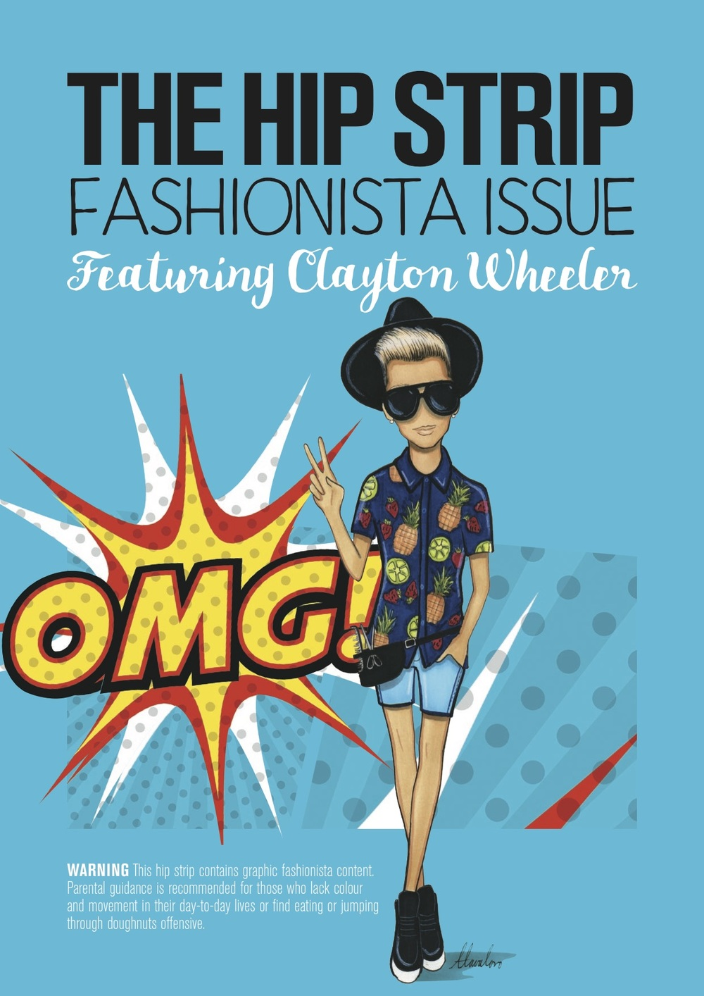 Clayton Wheeler Hot Shots Fashionista Finalist 2016