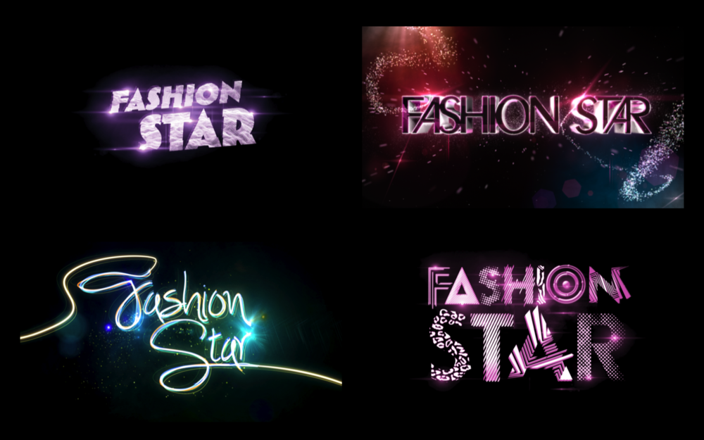 FASHION STAR | LOGO DESIGNS | NBC