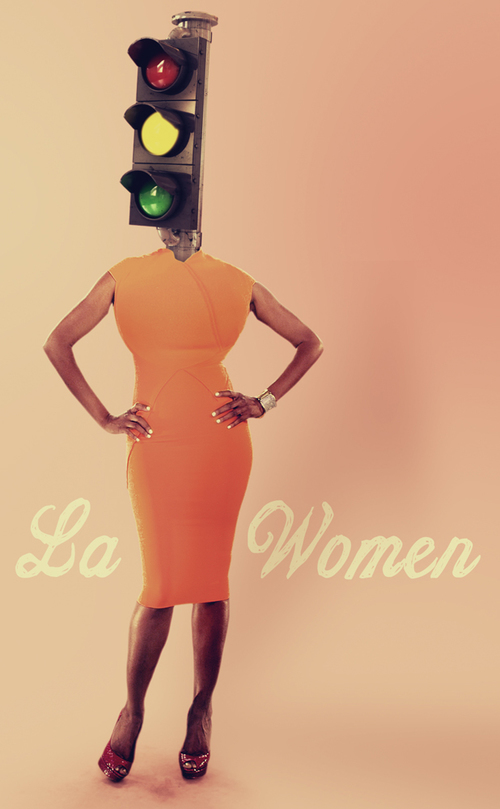 LA WOMEN PRINT AD ( LOGO REMOVED )
