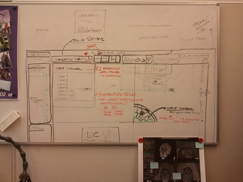 Early wireframing