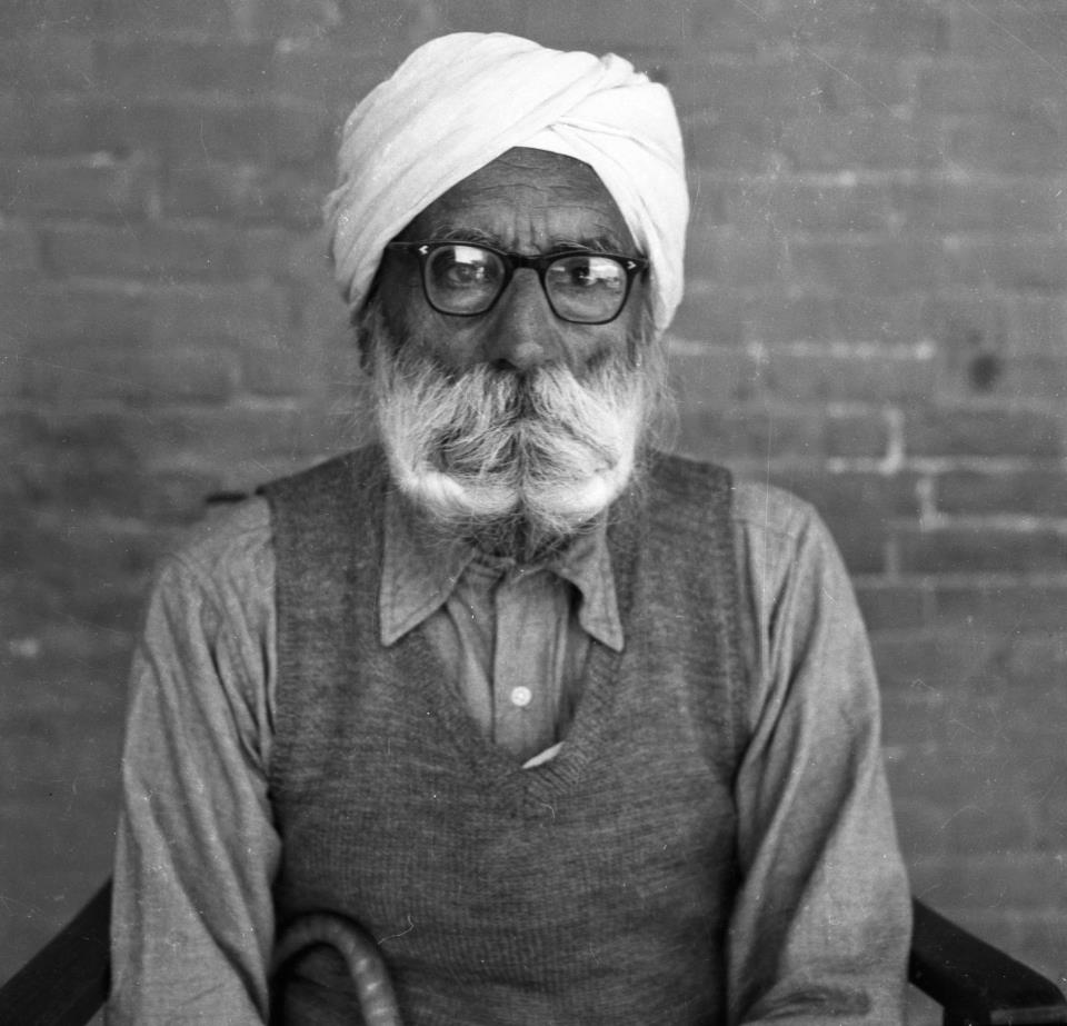 Mal Singh in later life, February 1961