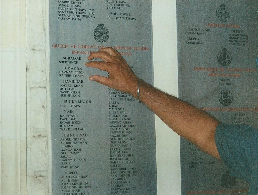 Harnam Singh memorialised