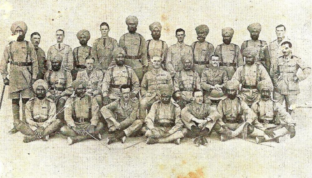 14th King George's Own Sikhs, c. 1915