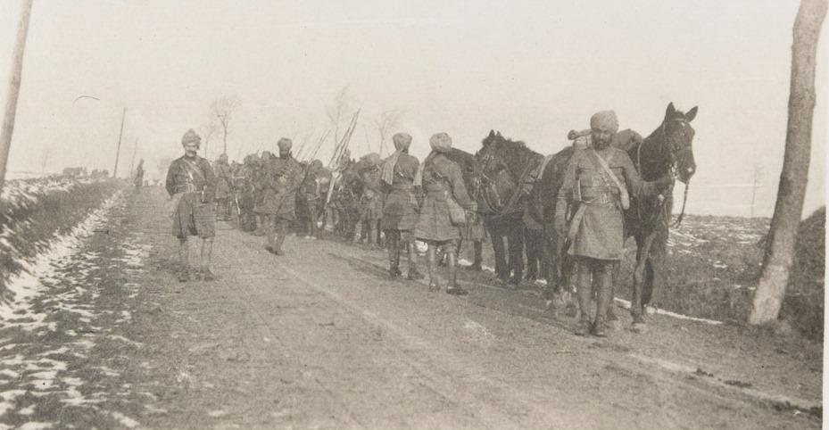 19th Lancers, France, February 1915