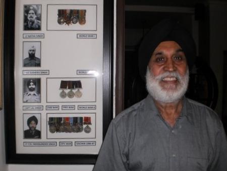 Citizen Historian Lt Col Swarajinder Singh