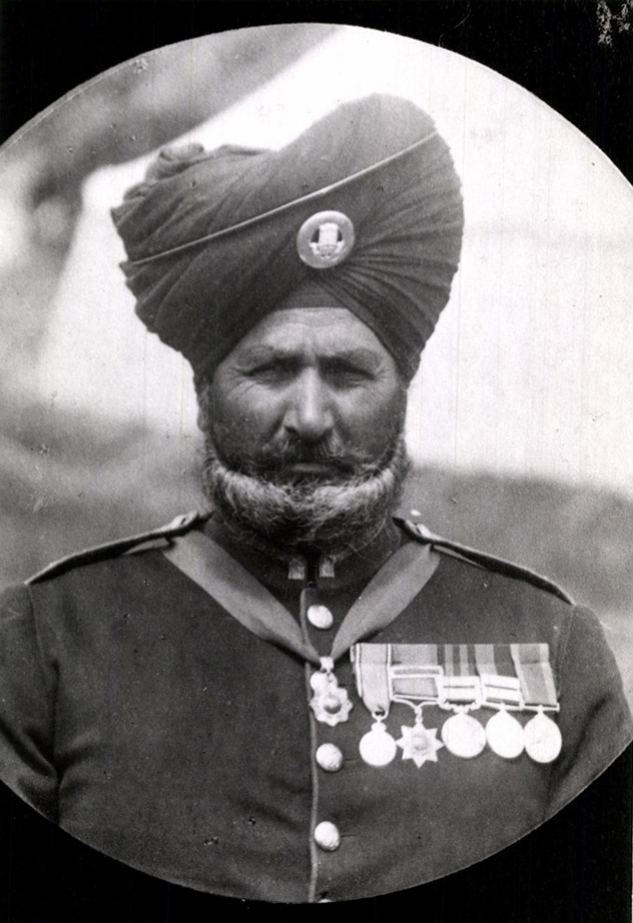 Subedar Major Bhagwan Singh, 1911