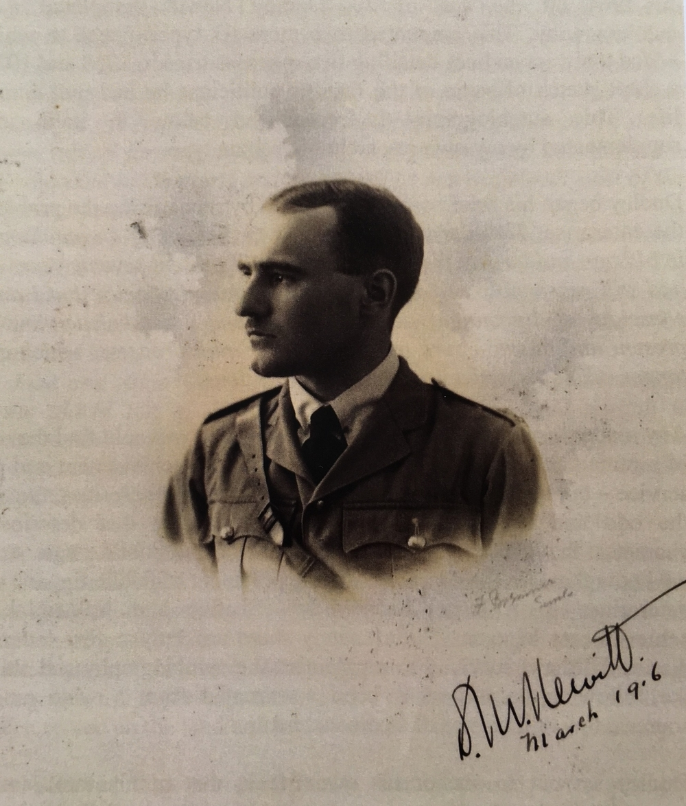 Captain Dudley Newitt, March 1916