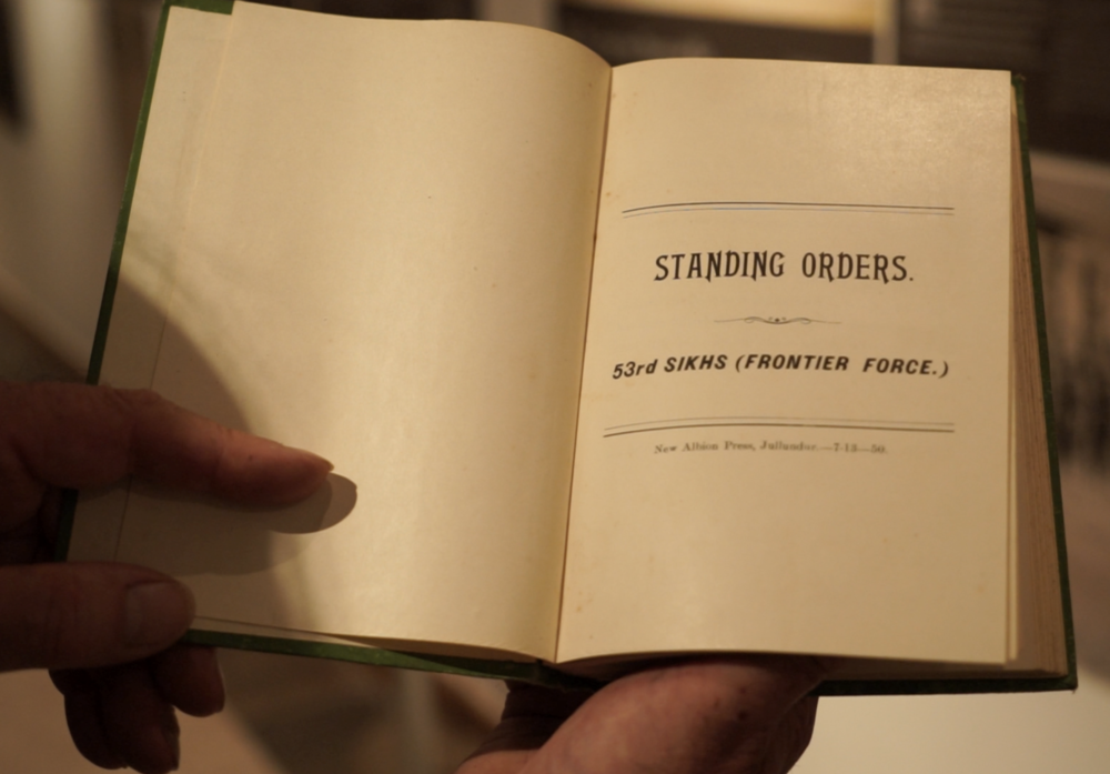 'Standing Orders of the 53rd Sikhs'