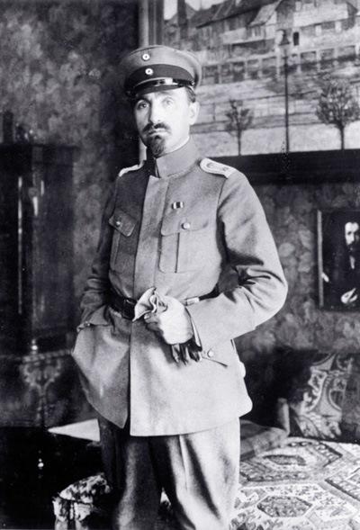 Hermann Struck, 1916