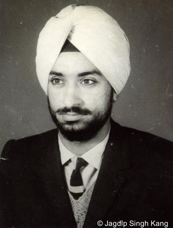 Sadhu Singh in England, 1965
