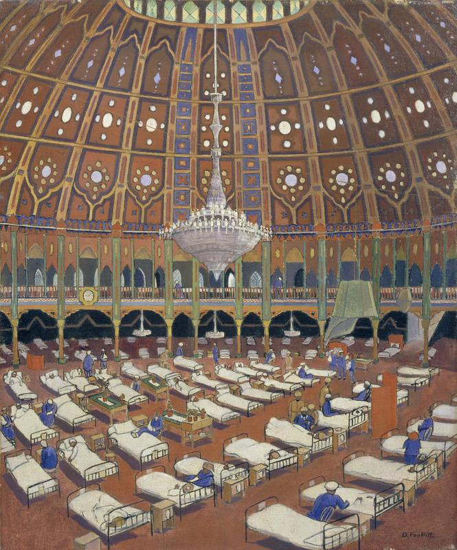 The Brighton Pavillion, 1919