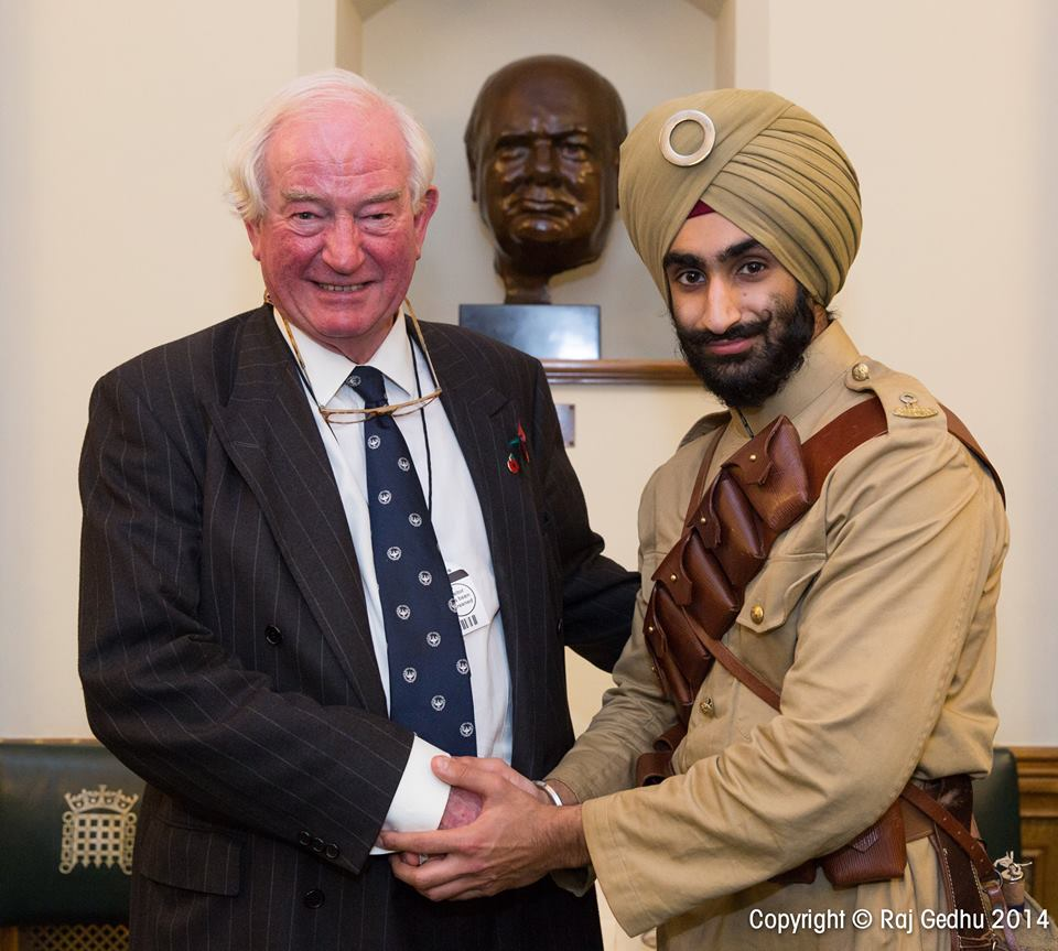 Kuljit Singh meets Ian Henderson