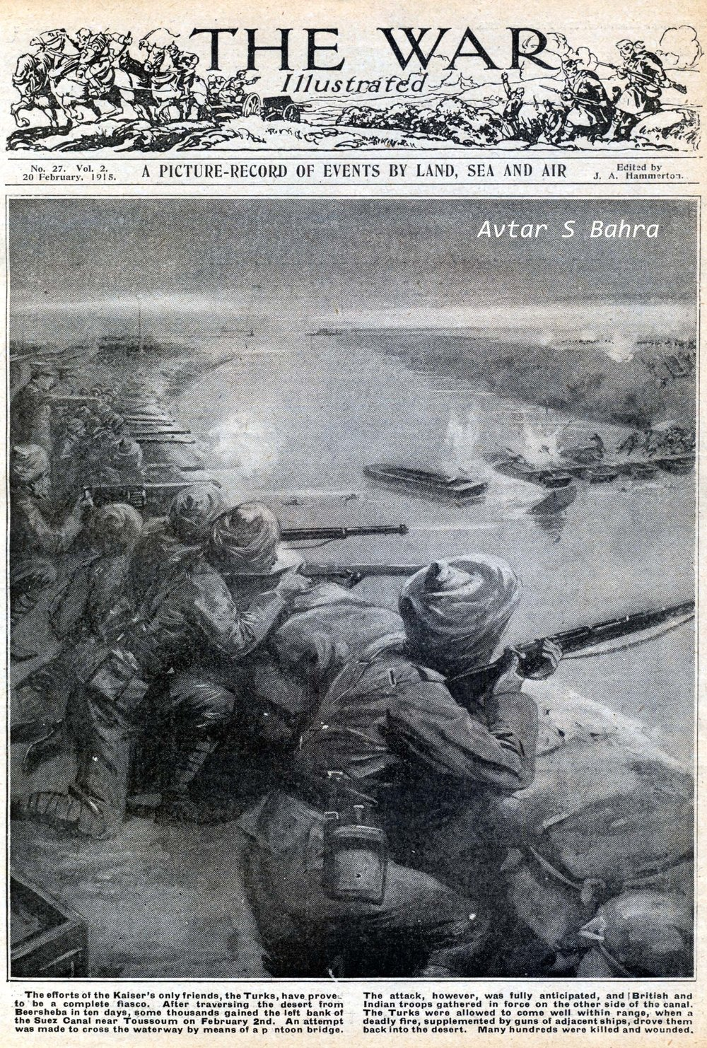 'The War Illustrated', 20 February 1915
