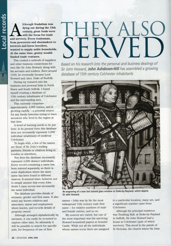 Ancestors magazine April 2006 p. 26.jpg