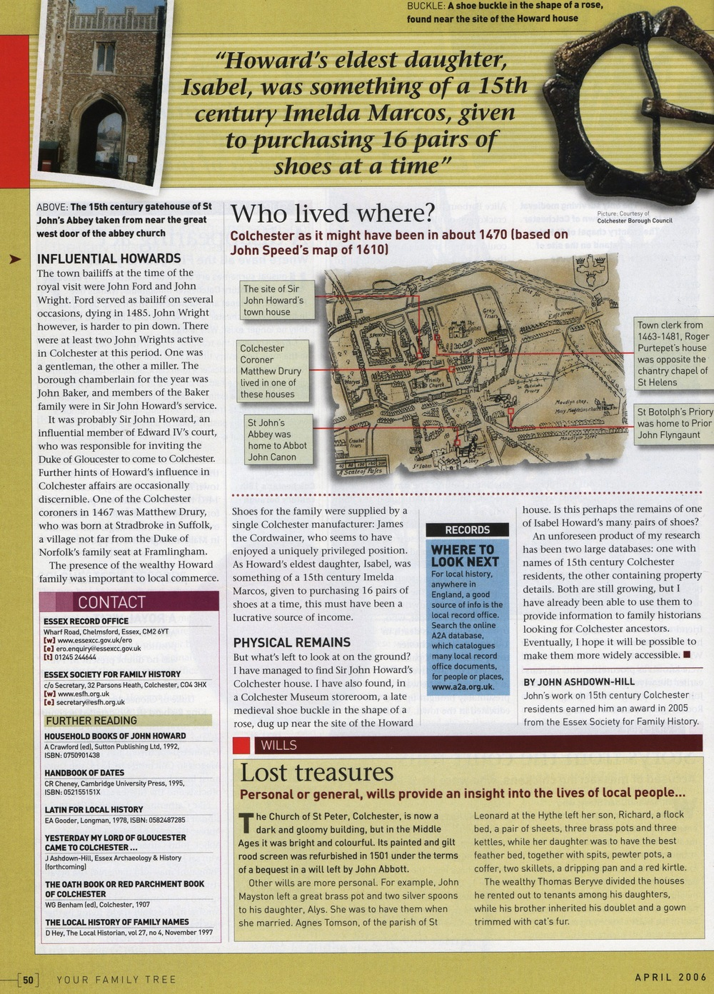 Your Family Tree magazine, April 2006c.jpg
