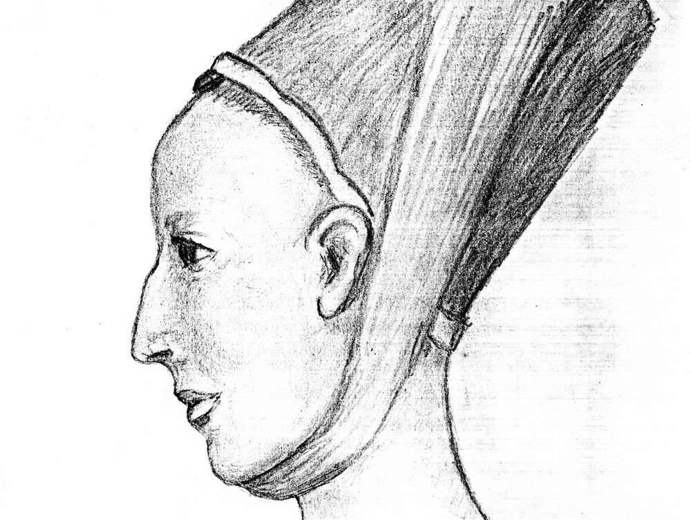 John Ashdown-Hill's image of Eleanor, based on the Norwich skull