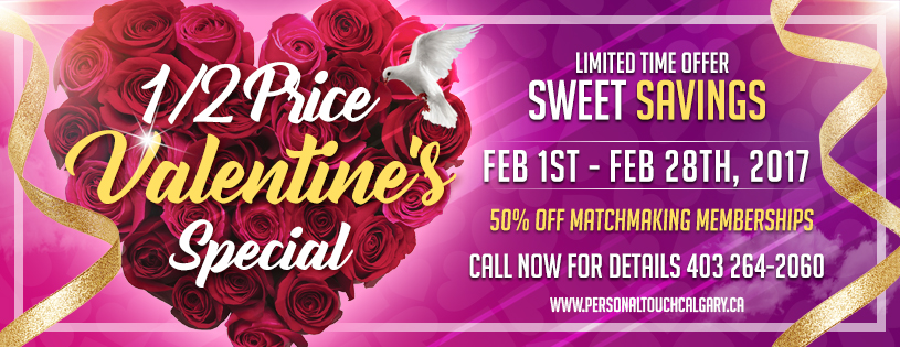 Valentines dating special calgary