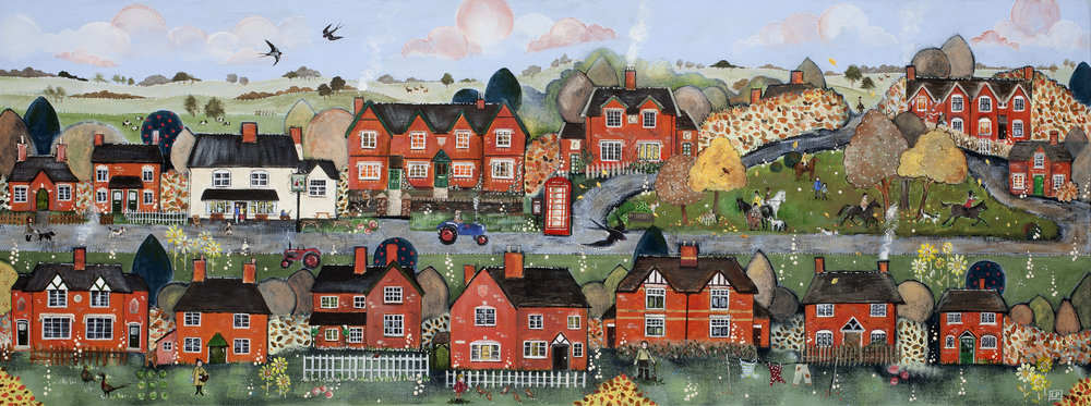 'Ham, Autumn Morning, Berkeley' by Lorna Page