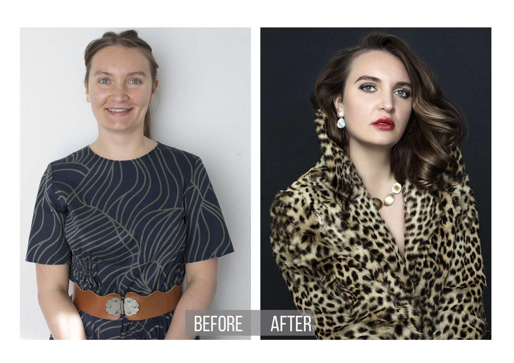 Magazine Cover Transformation | Feminine Portrait Photos