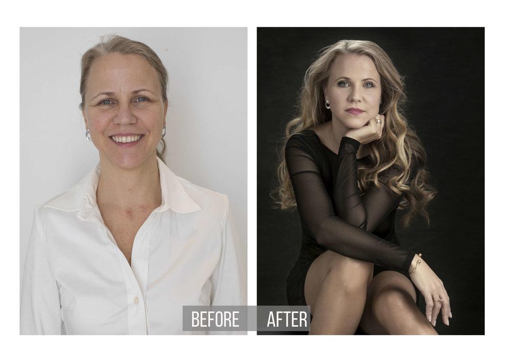 Glamorous Beauty Transformation | Studio Photography