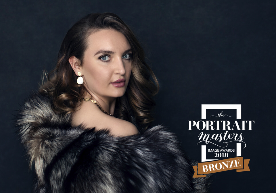 Glamorous Feminine Portrait with fur