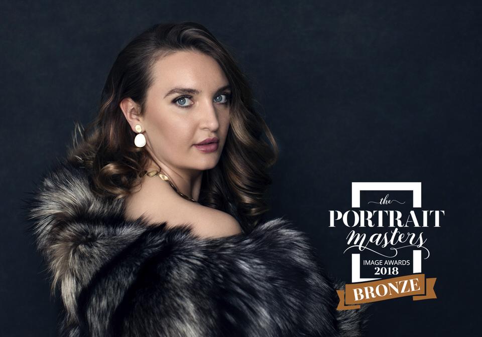 Glamorous Feminine Portrait with fur