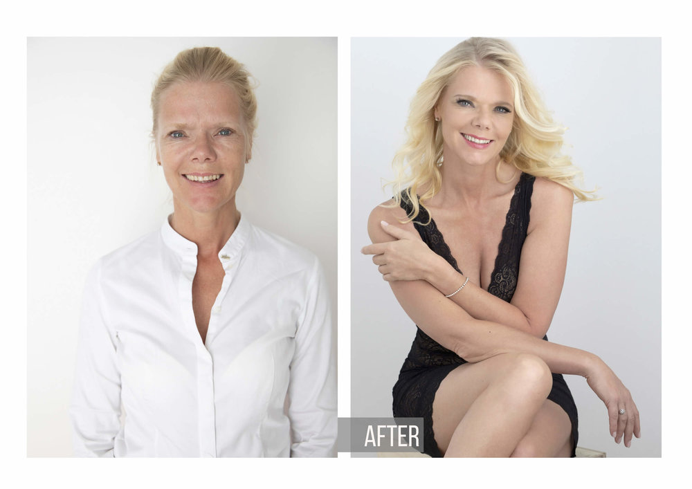 Before And After Photos | Glamour transformation