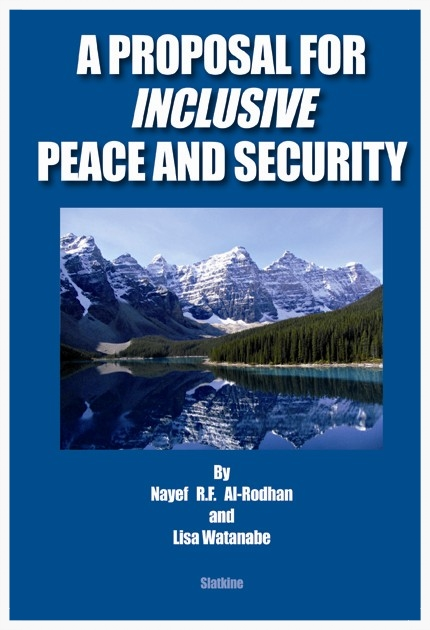 Copy of A PROPOSAL FOR INCLUSIVE PEACE AND SECURITY