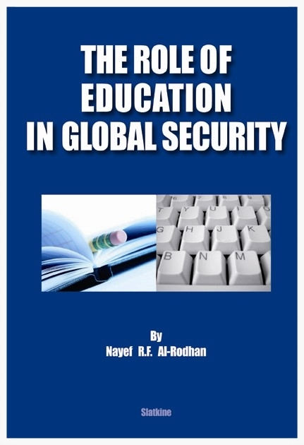 THE ROLE OF EDUCATION IN GLOBAL SECURITY