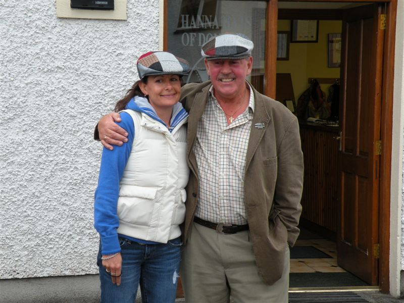 John Hanna and myself on a CIE bus tour in 2008
