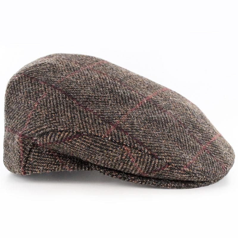 7b66a7129e3b04 Mucros Weaver Brown Herringbone Cap — Fáilte Irish Import Shop