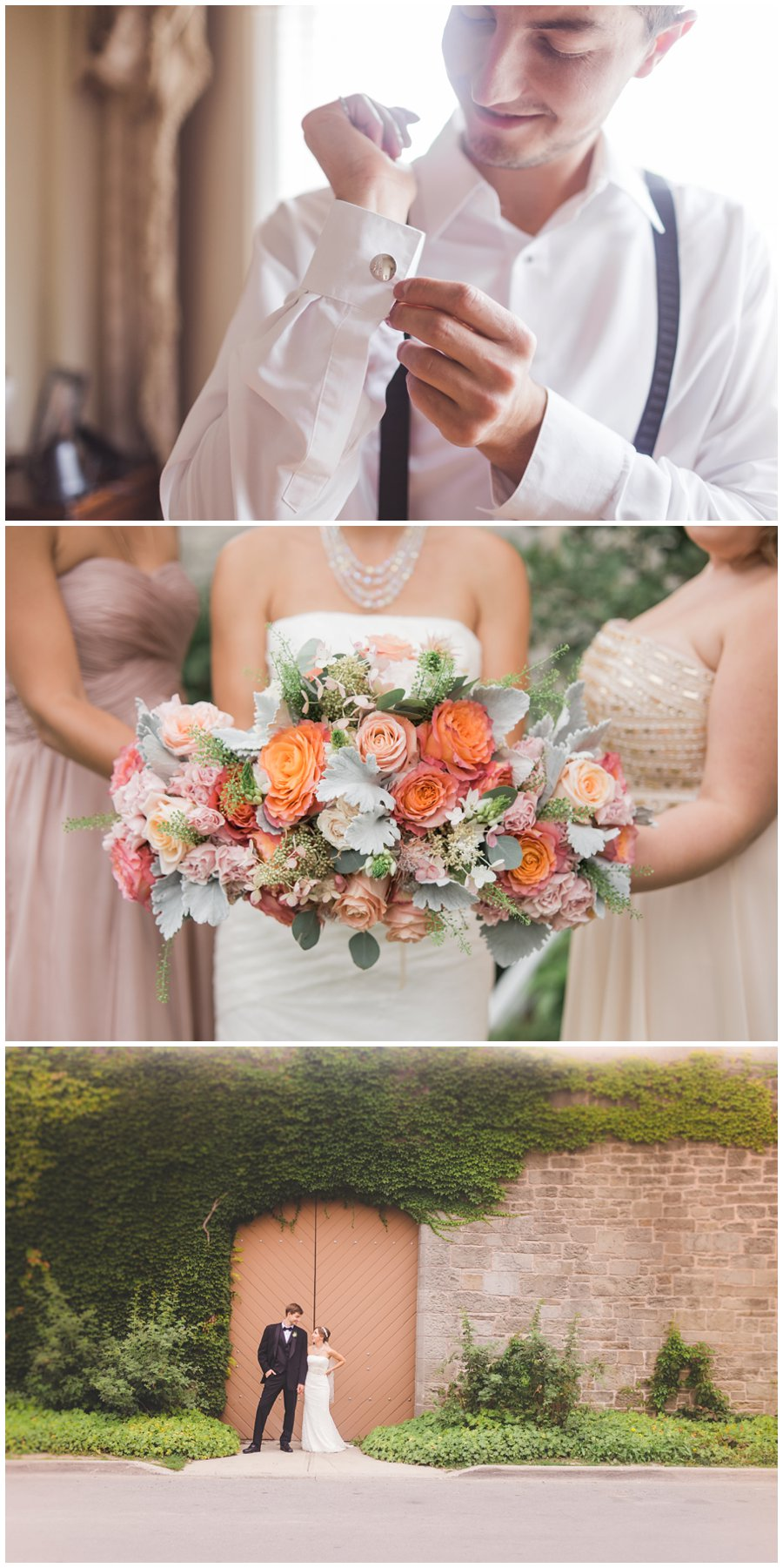 milton wedding at town hall florals